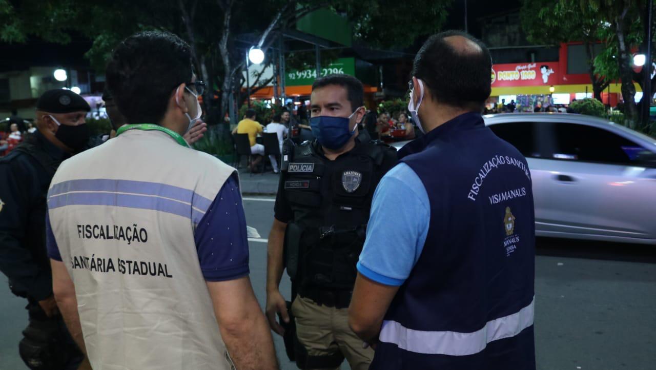 CENTRO INTEGRADA  de Fiscalização intensifica ações e fecha quatro estabelecimentos em Manaus