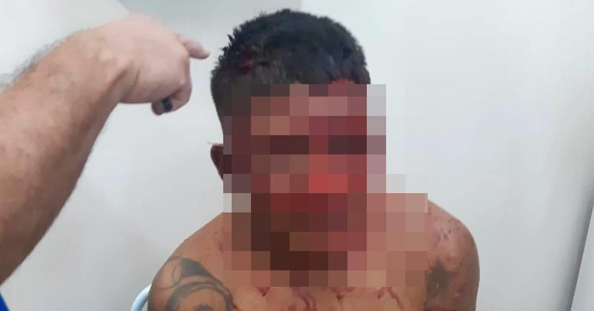 SUSPEITO de tentativa de estupro é espancado em  Novo Airão