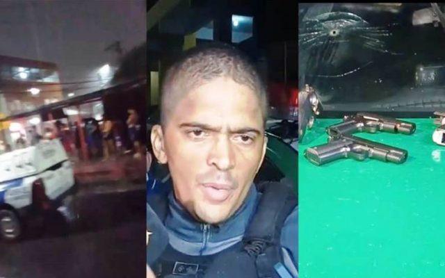 50 MINUTOS DE TENSÃO – Três são mortos durante onda de assaltos, perseguição e tiroteio em Manaus