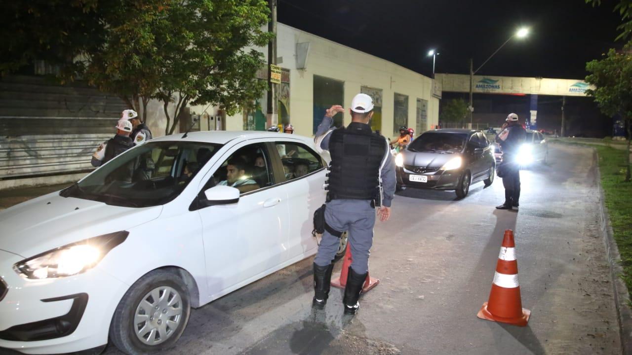 Polícia militar intensifica Operação Águia na cidade de Manaus