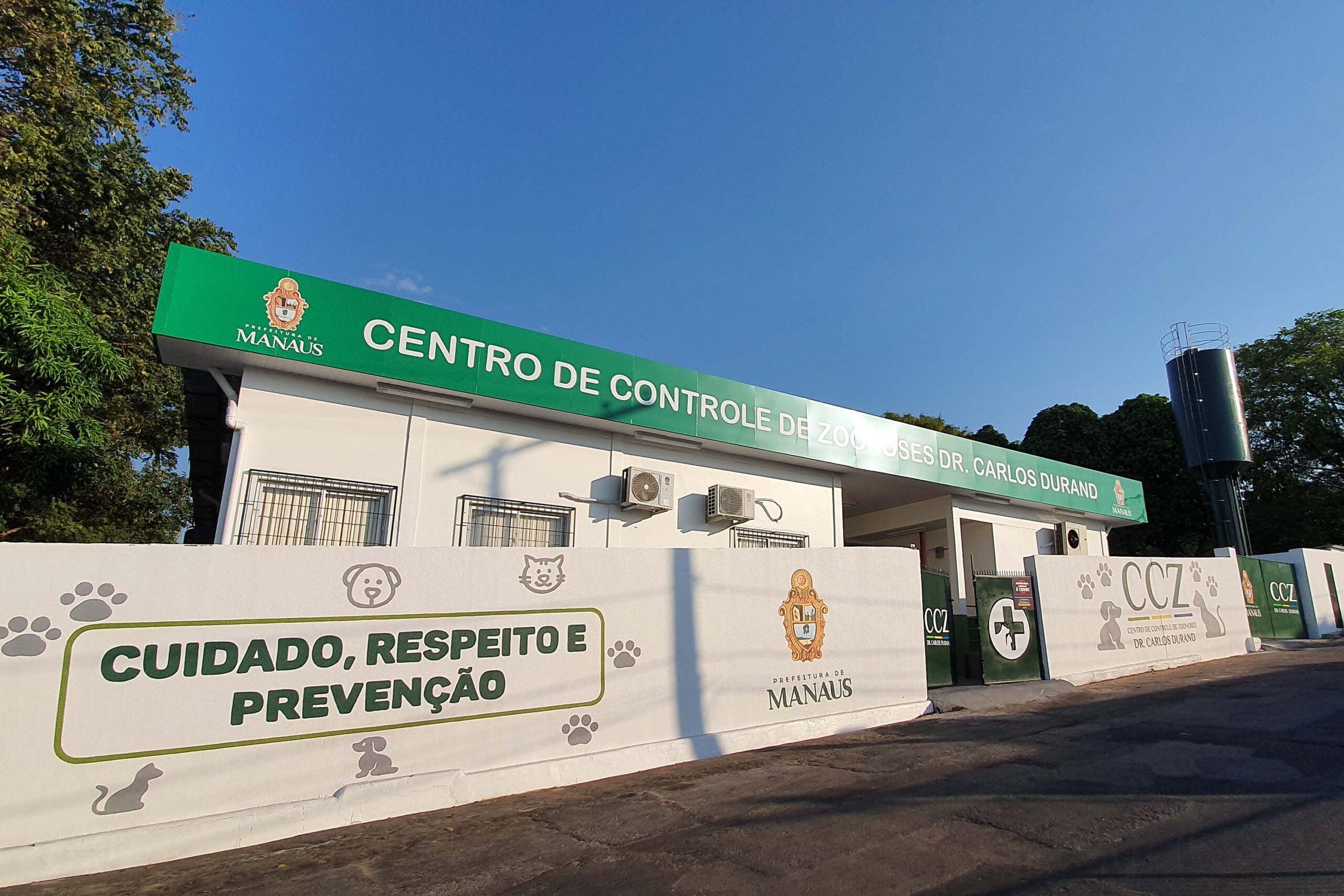 Prefeito retoma atividades externas e INAUGURA ampliação do Centro de Controle de Zoonoses