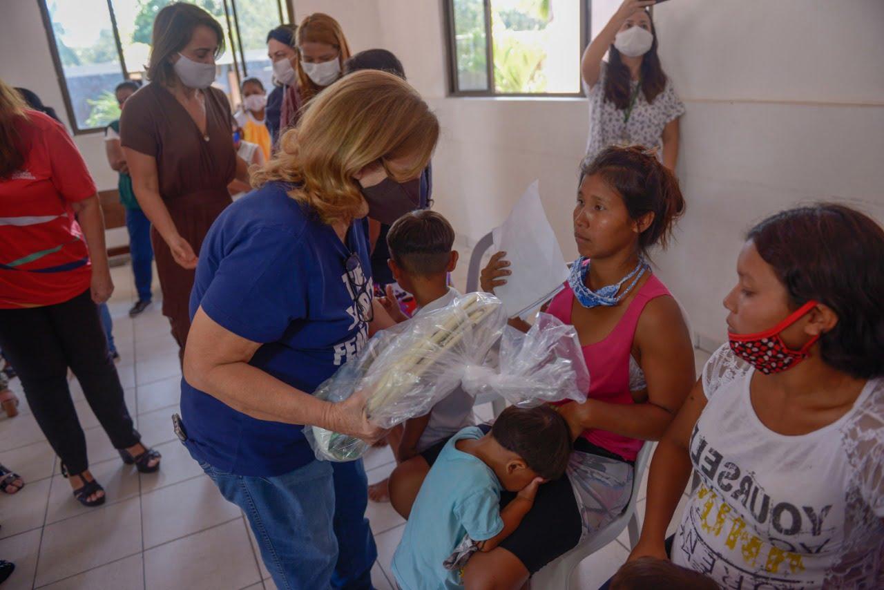 Coordenadoria da Infância e da Juventude realiza visitas técnicas a abrigos de acolhimento, incluindo o que oferece atendimento a crianças e adolescentes venezuelanos da etnia Warao