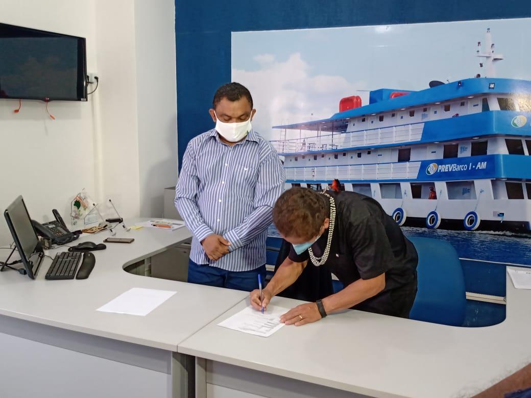 Fundação Estadual do Índio e INSS assinam Termo de Cooperação Técnica