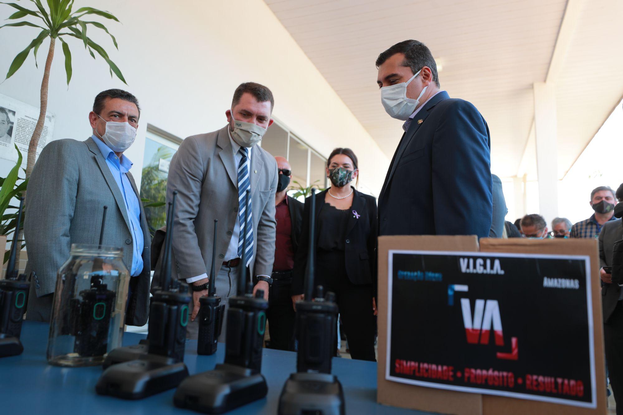 GOVERNO do Amazonas inaugura novo sistema de radiocomunicação