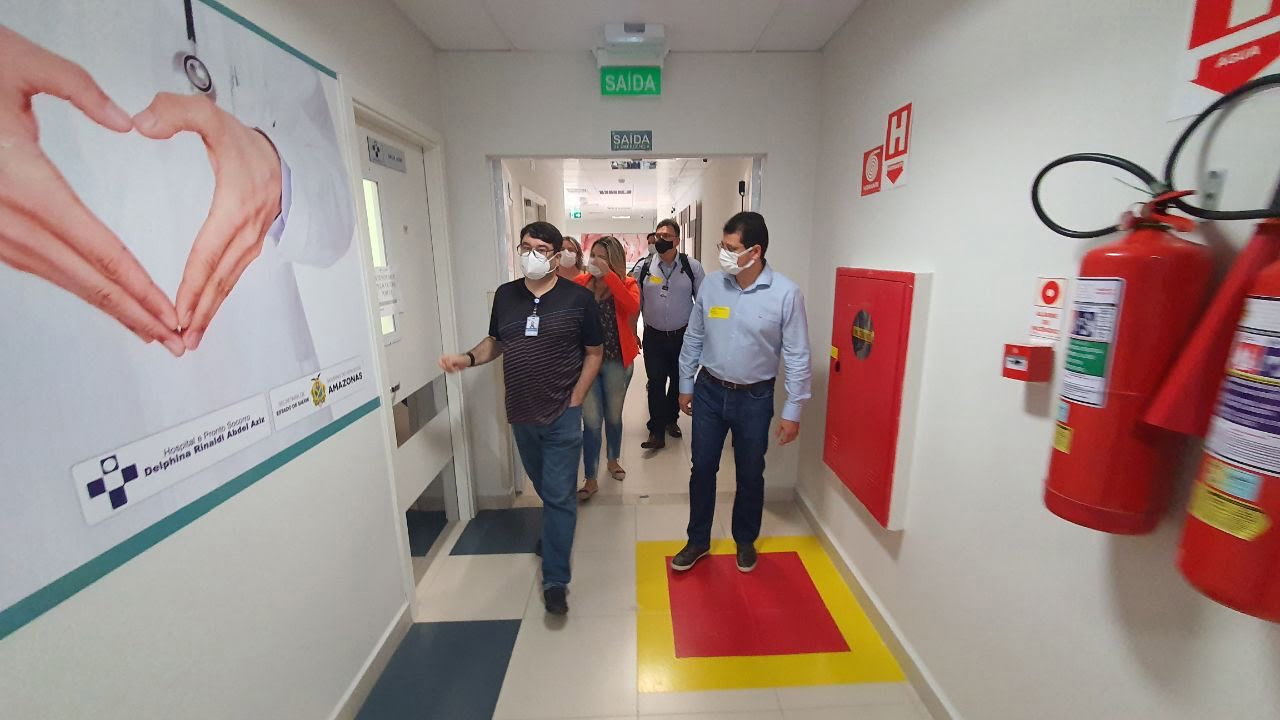 GOVERNO do Amazonas prepara criação de instituto de aperfeiçoamento de servidores da saúde