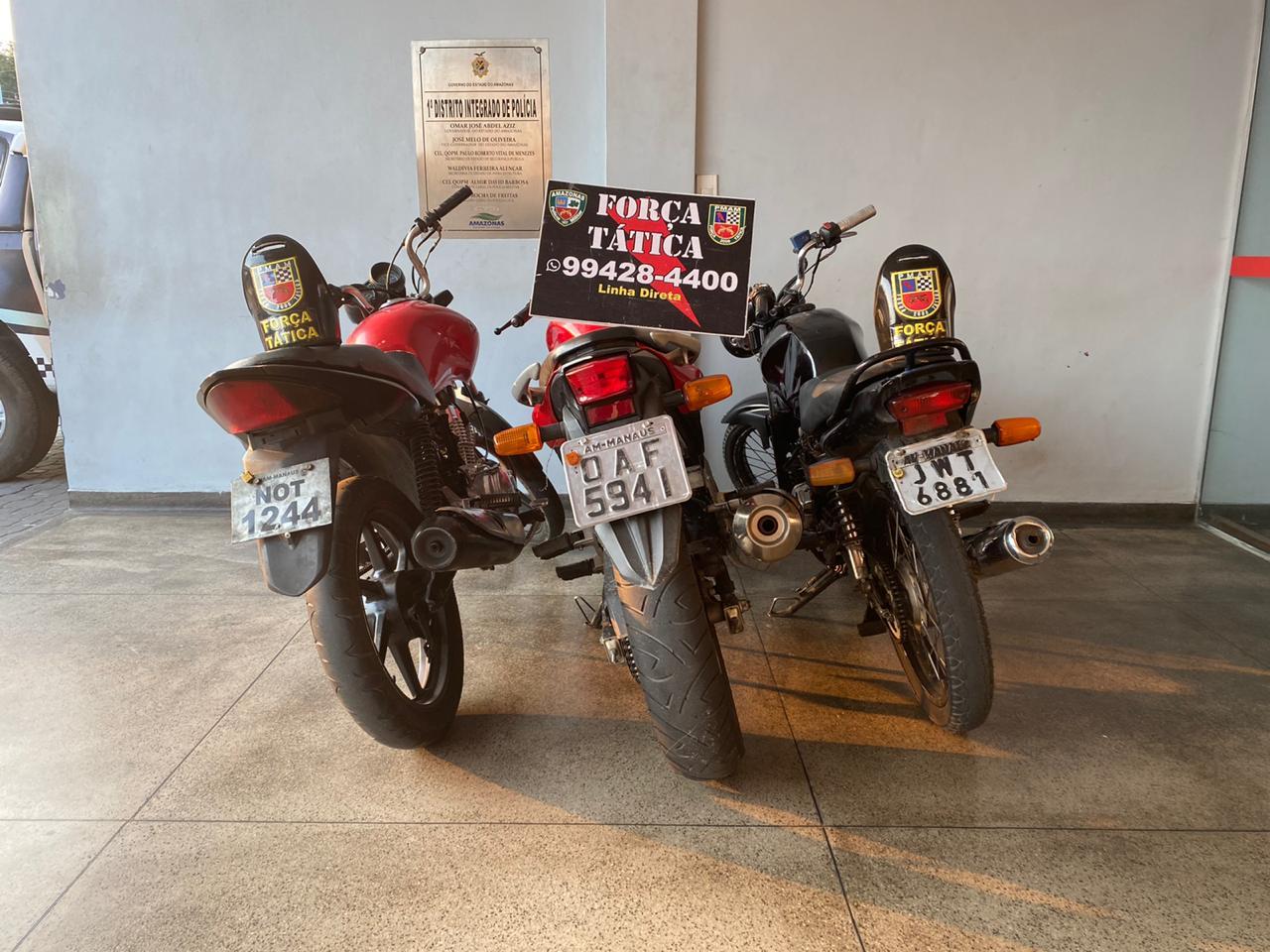 Força Tática detém três homens tentando vender motos roubadas na Cachoeirinha