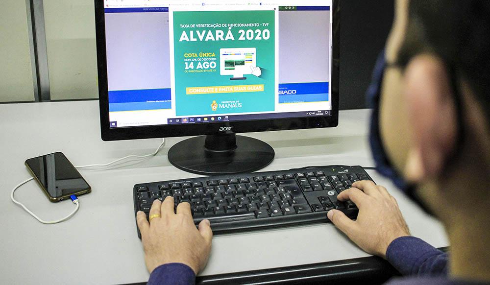 PREFEITURA alerta que contribuintes têm até dia 14/8 para pagar cota única do Alvará 2020