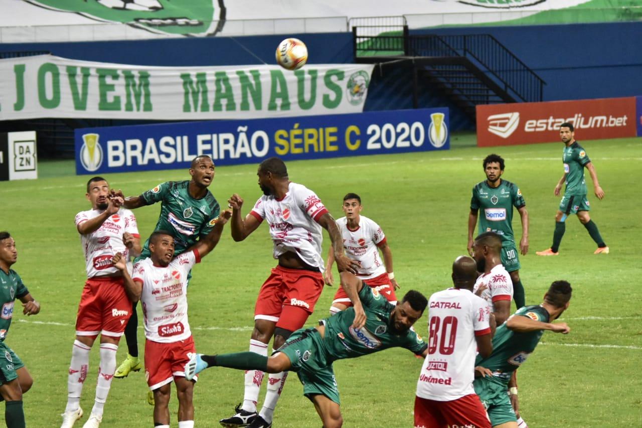 Manaus FC estreia na série C e EMPATA com Vila Nova (GO)