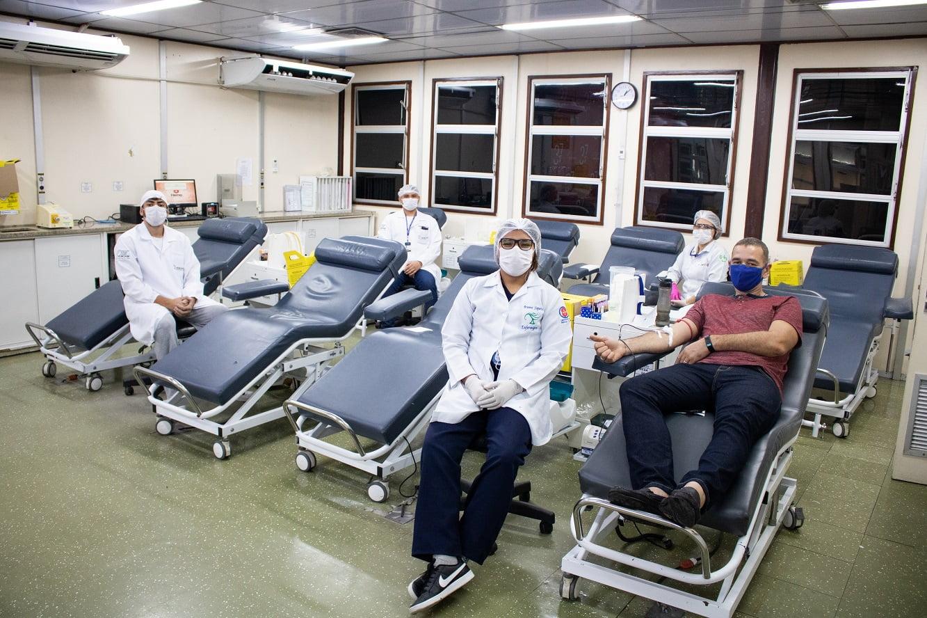 ESTOQUE de SANGUE do Hemoam sofre com queda de 60% de doadores