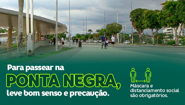 ESPECIAL PUBLICITÁRIO -Para passear na Ponta Negra, leve bom senso e preocupação