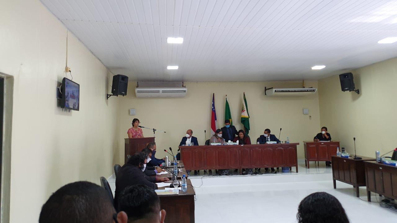 PARQUE da Cacimba é tema de sessão com a participação da Sedecti na Câmara Municipal de Novo Airão