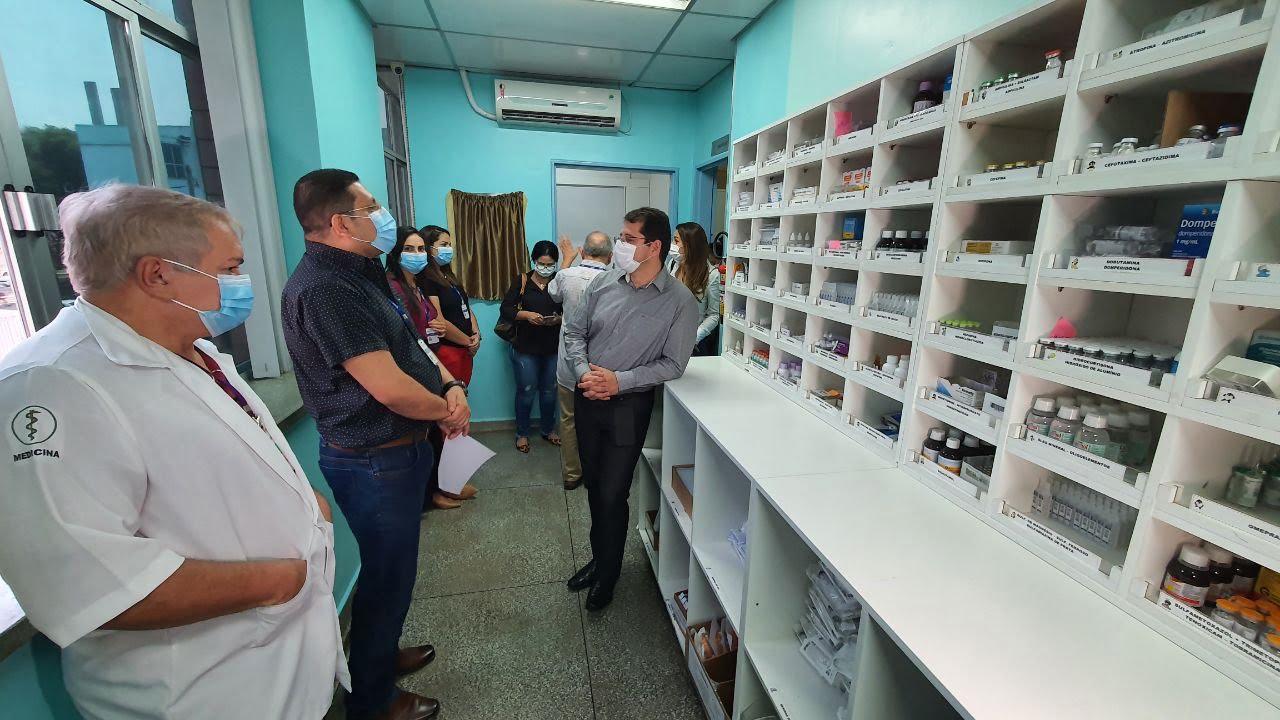 SUSAM inaugura farmácia de manipulação no Hospital Infantil Dr. Fajardo