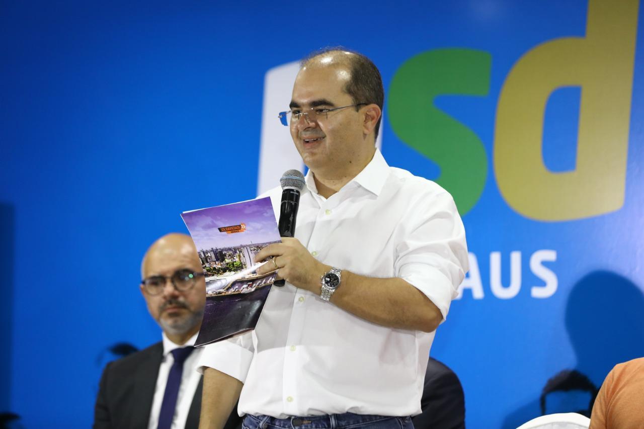 Pré-candidato a prefeito, Ricardo Nicolau fecha com Solidariedade e anuncia 55 metas de gestão