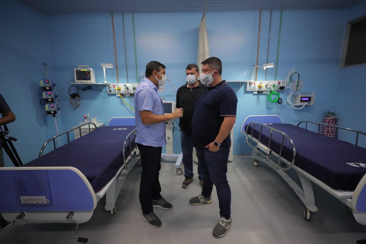 Wilson Lima inaugura Central de Medicamentos em Carauari, que também recebe mutirão de cirurgias