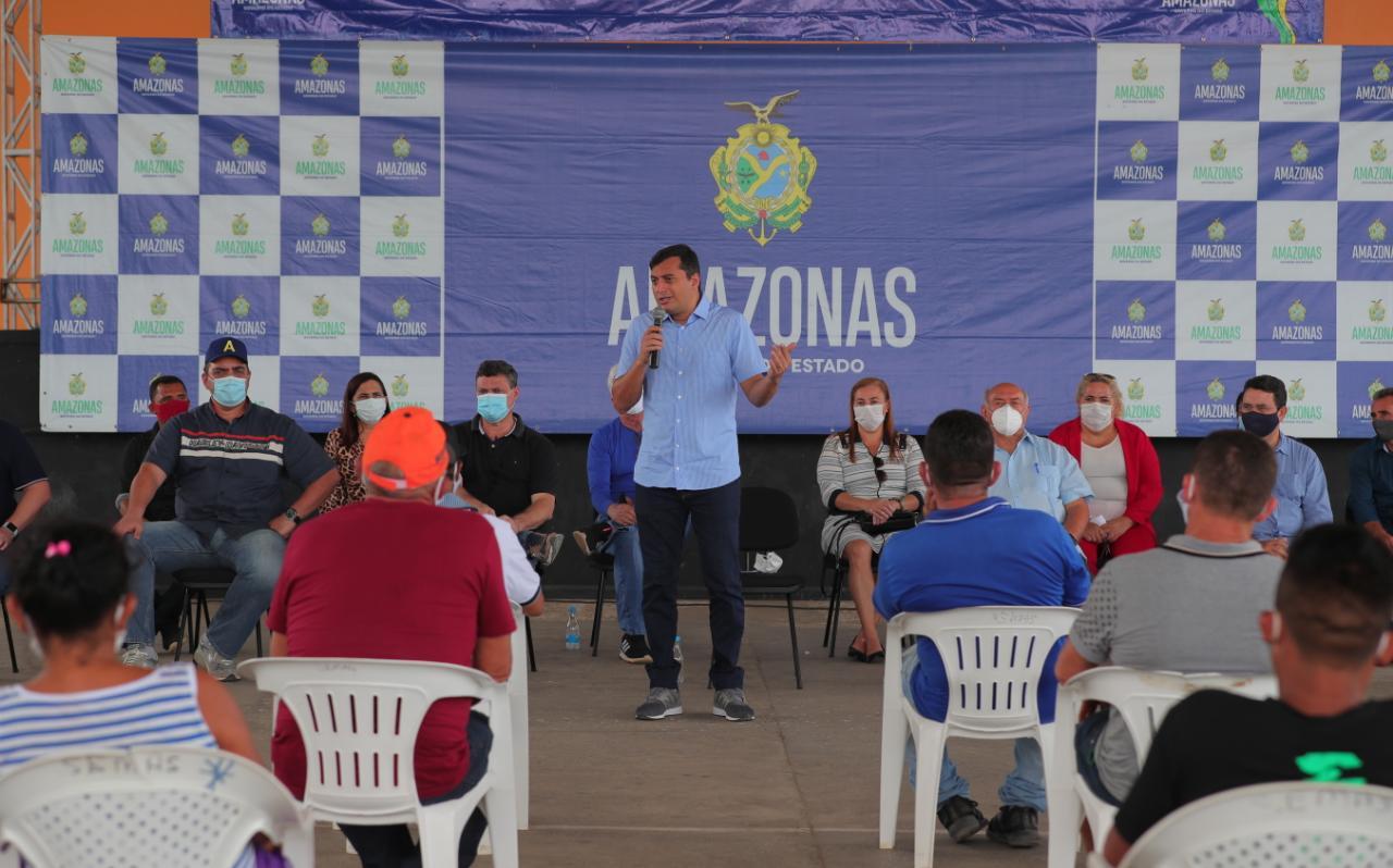 Wilson Lima anuncia investimento de R$ 8 milhões no abastecimento de água de Carauari