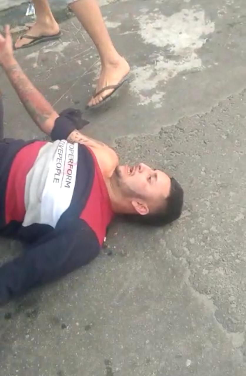 Homem é linchado no bairro Petrópolis