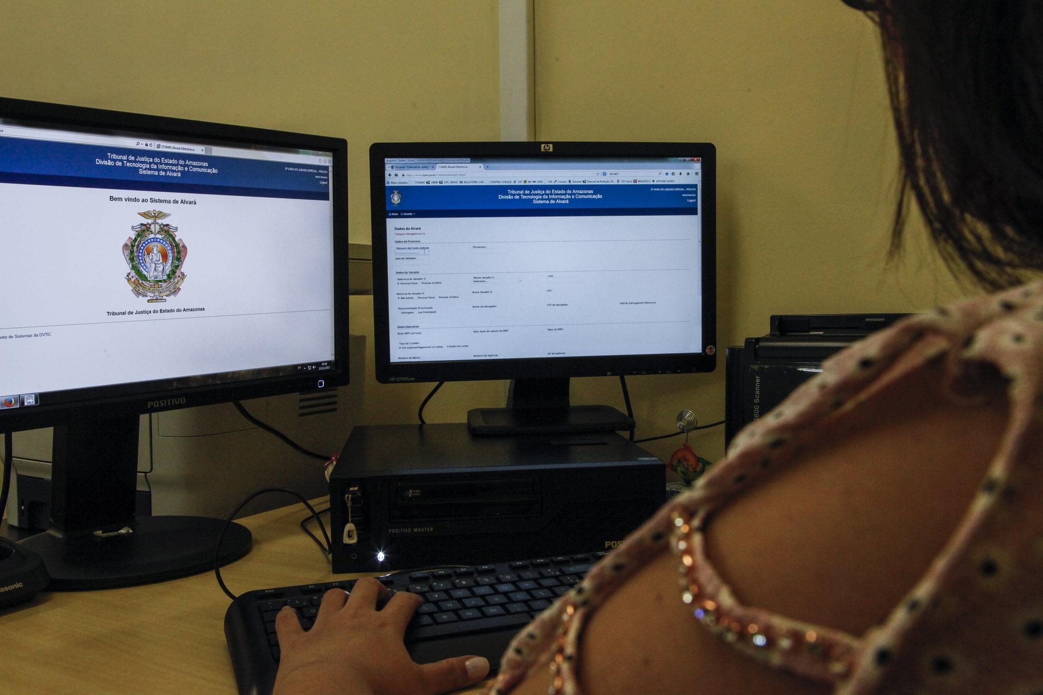 Utilização do Alvará Eletrônico cresce mais de 120% em 2020 e está presente em 117 unidades judiciárias do TJAM