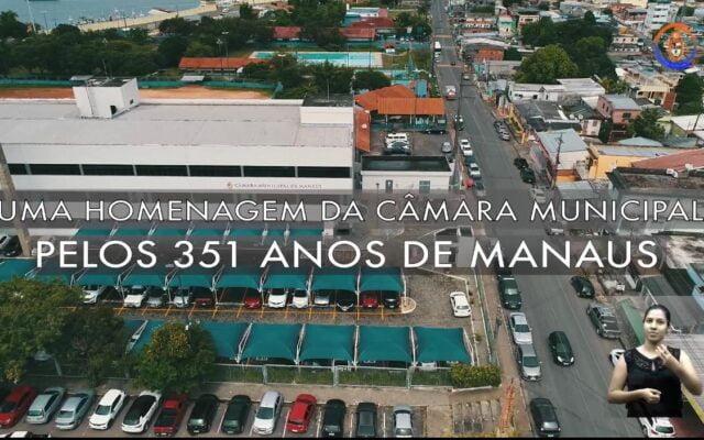 Câmara Municipal presta HOMENAGEM aos 351 anos da cidade com reflexão sobre a pandemia
