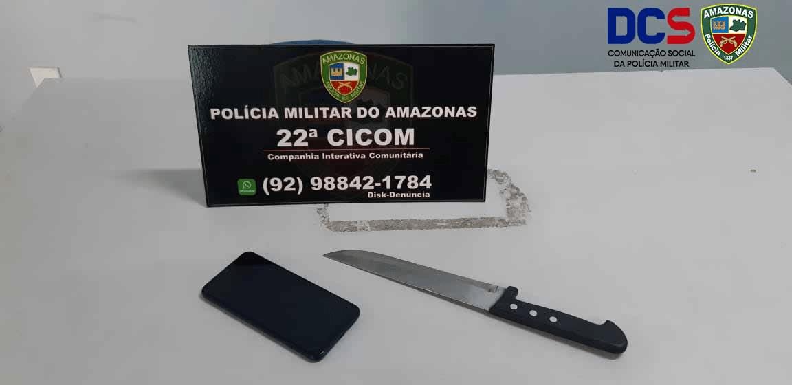 da 22ª Cicom detêm dupla por roubo na zona centro-sul