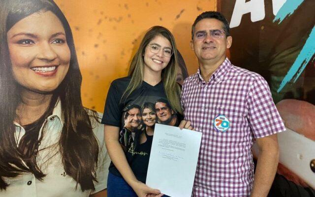 Filha de David Almeida, Fernanda Aryel assume presidência nacional do Avante Jovem