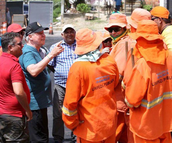 Tancredo Neves recebe serviços do 'Requalifica', da Prefeitura de Manaus