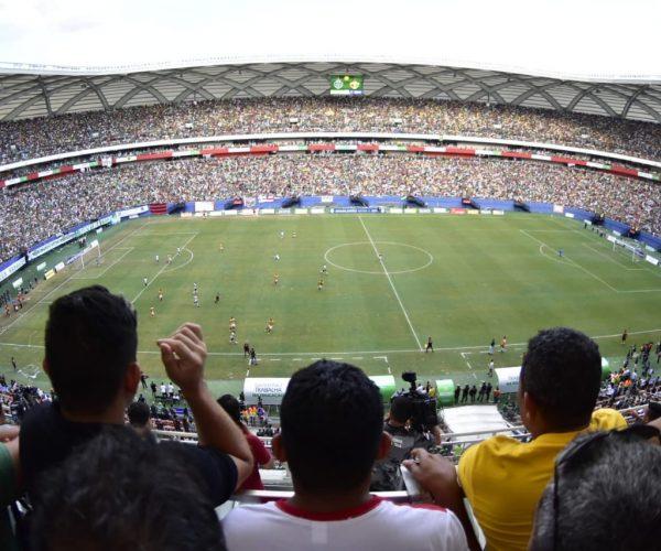 Governo do Amazonas isentou pagamento de aluguel de estádios para mais de 200 jogos de futebol em 2019