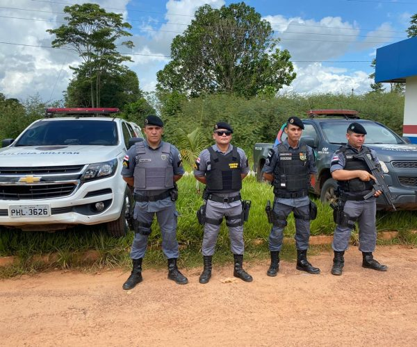 PM intensifica operações em três municípios de fronteiras após fuga de detentos no Acre